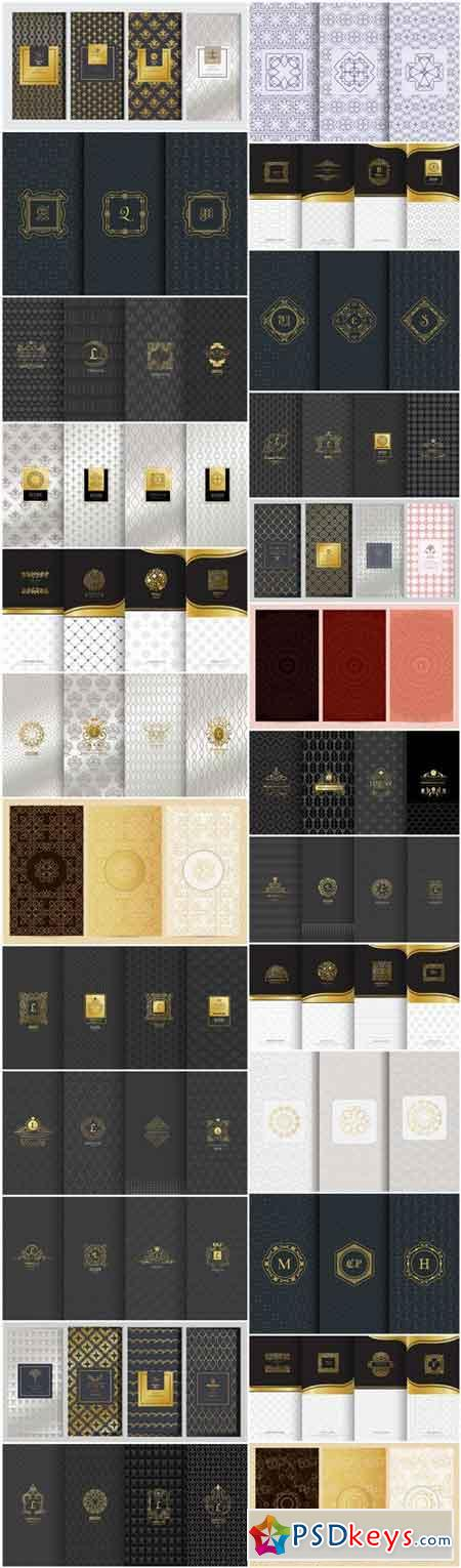 Seamless Pattern Collection #145 - 25 Vector