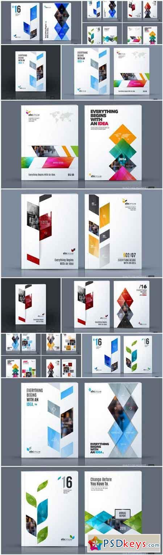 Creative Business Brochure Template - 12 Vector