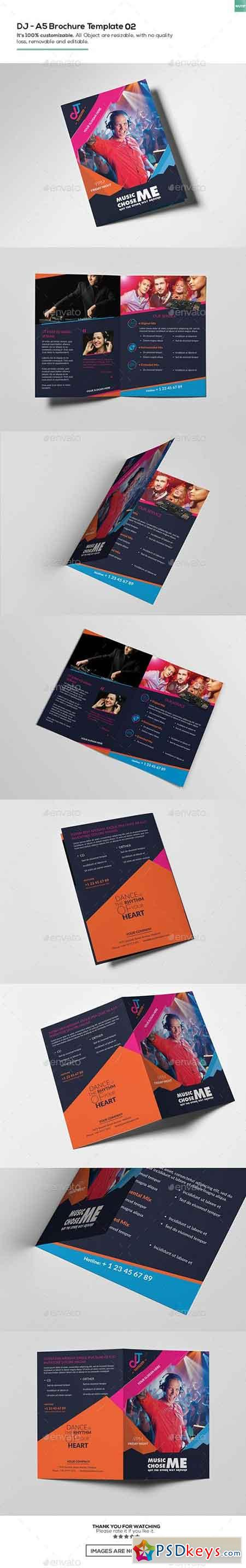 DJ A5 Brochure Template 02 16207061