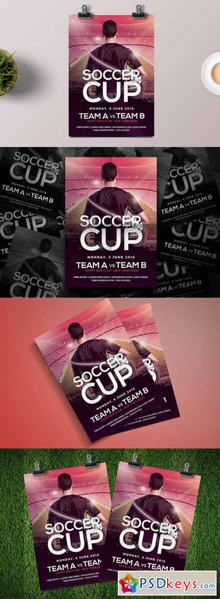Soccer Cup Flyer