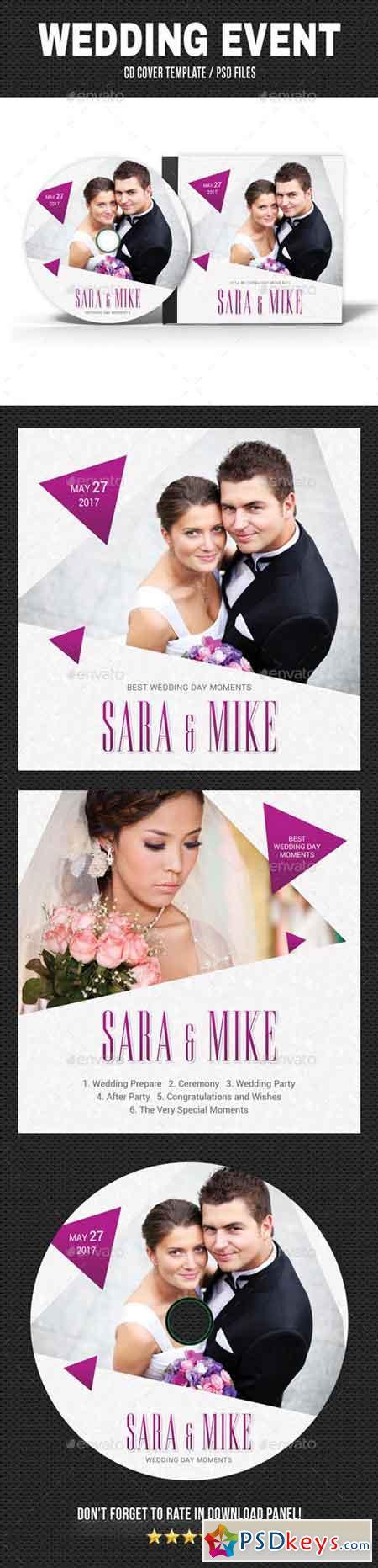 Wedding Event CD Cover v19 20351621