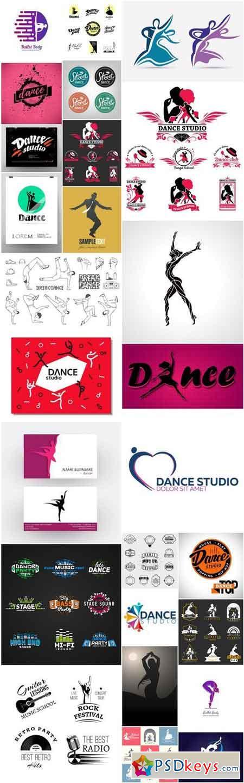 Dance Studio Logo - 26 Vector
