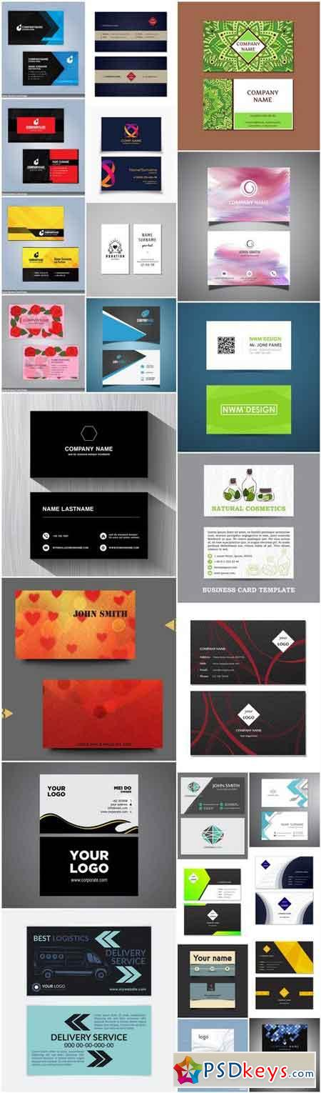 Business Card Design #147 - 25 Vector