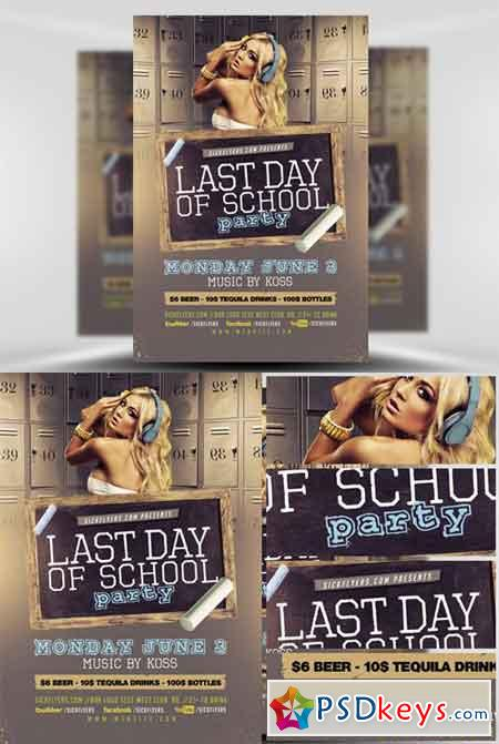 Back To School Flyer Template V  Free Download Photoshop Vector