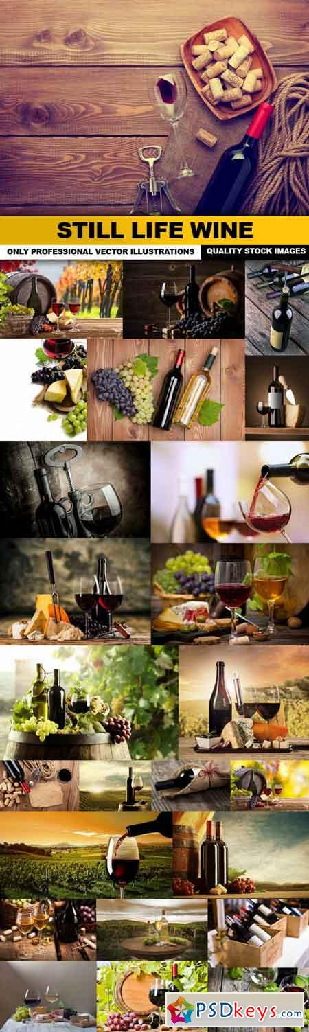 Still Life Wine - 25 HQ Images