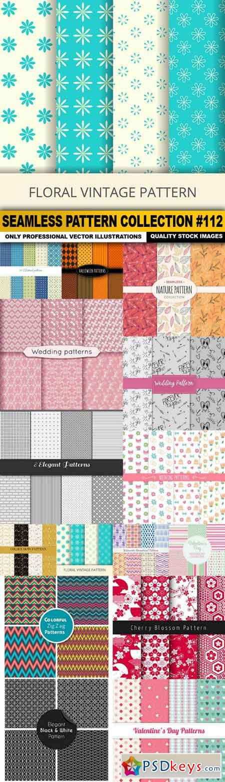 Seamless Pattern Collection #112 - 15 Vector