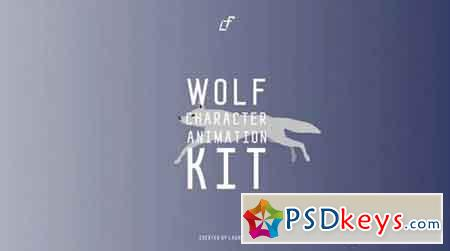 Wolf Character Animation Kit - After Effects Projects