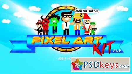 Pixel Art Kit V1.9 15325974 - After Effects Projects
