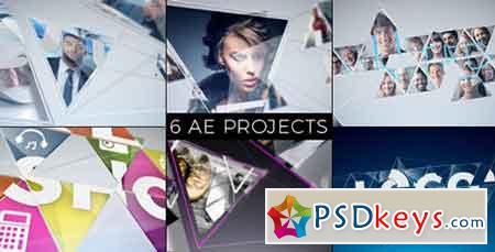 Connected Mosaic Pack 18848516 - After Effects Projects