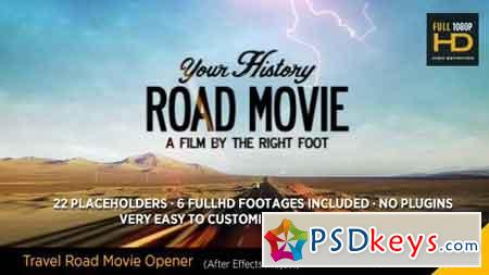 Travel Road Movie 13512367 - After Effects Projects