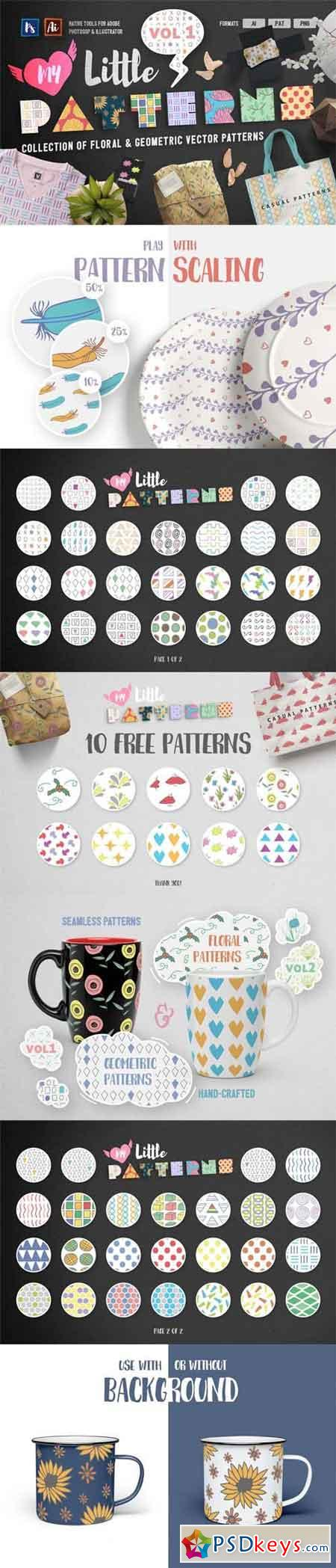 My Little Patterns Vol. 1