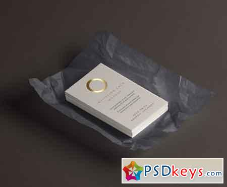 Psd Invitation Card Mockup