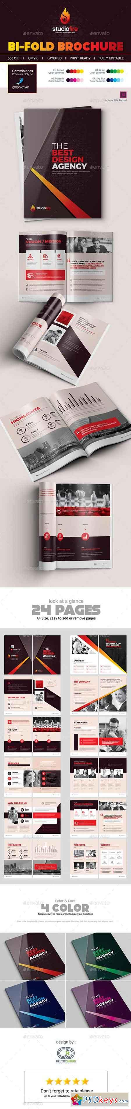 Brochure Design Template 19174337