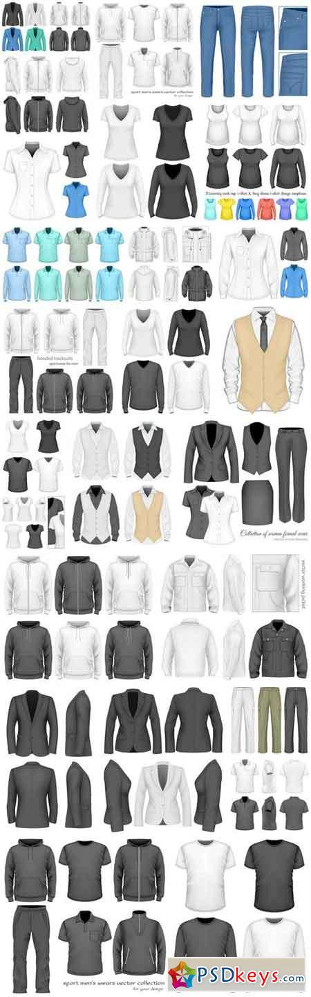 Mockup Clothes Collection - 26 Vector