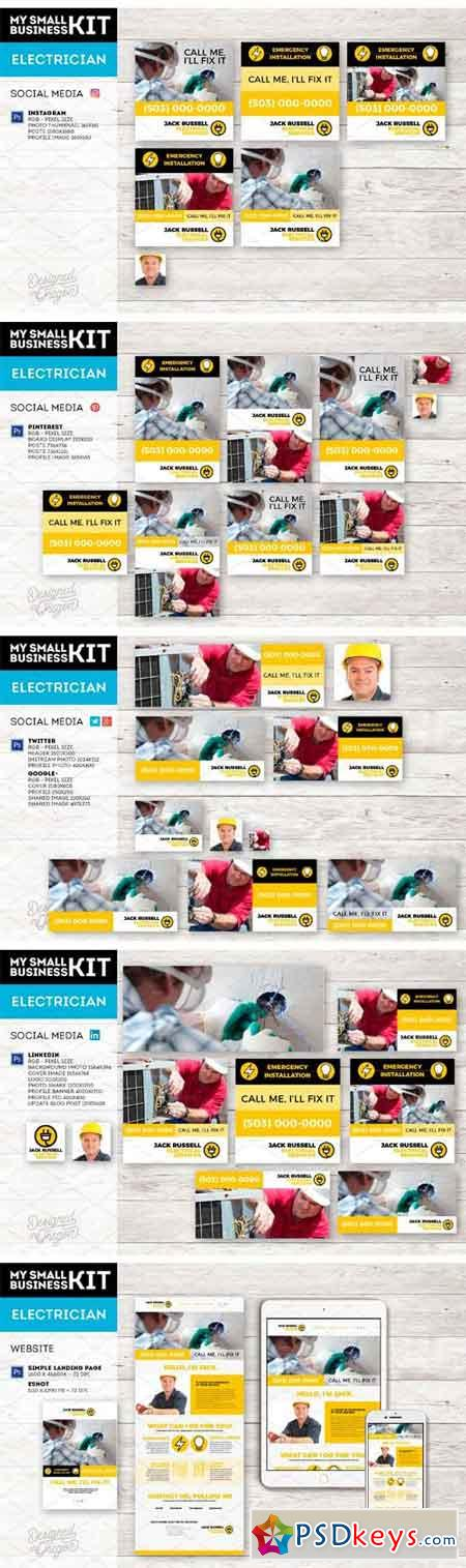 Electrician Business Kit 1670220