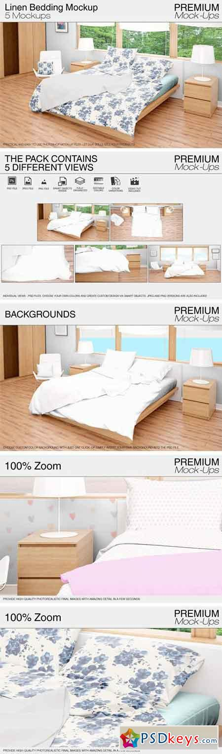 Bedding Mockup Set 1696766