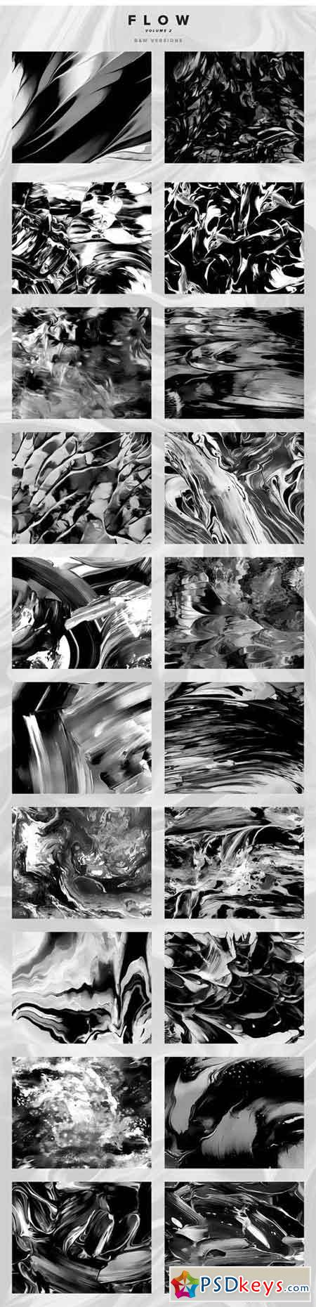 Flow, Vol. 2 100 Fluid Paintings 1669891