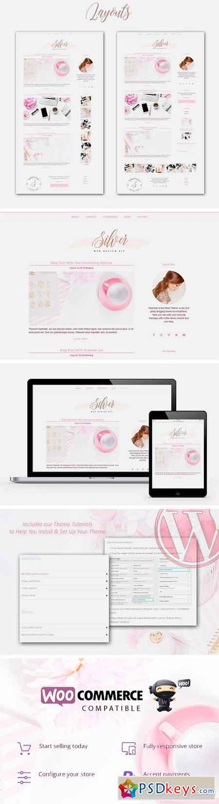 Feminine Blog + Shop Genesis Theme 1695677