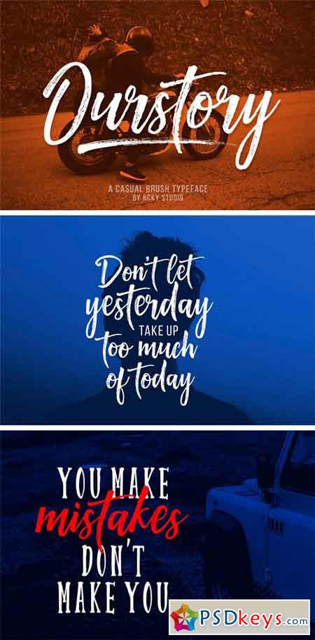 Ourstory Font Duo 1696753