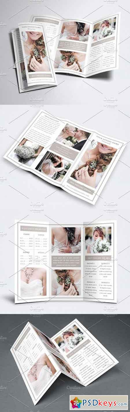 Photography Trifold Brochure Template 1644003
