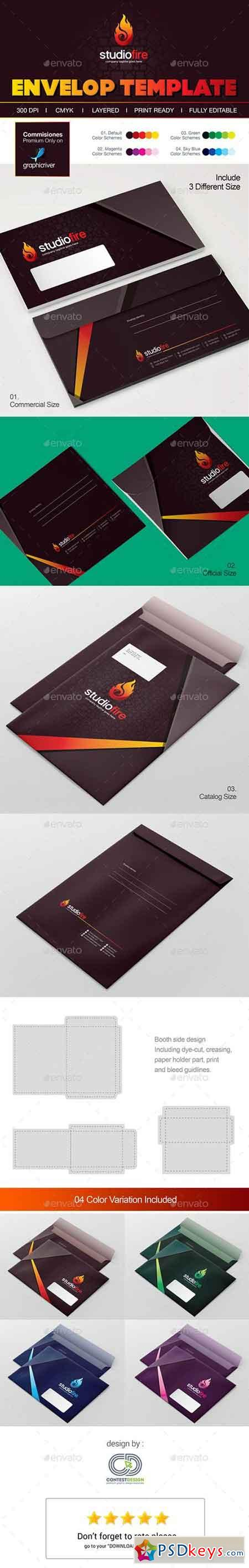 Envelope Template 19174699