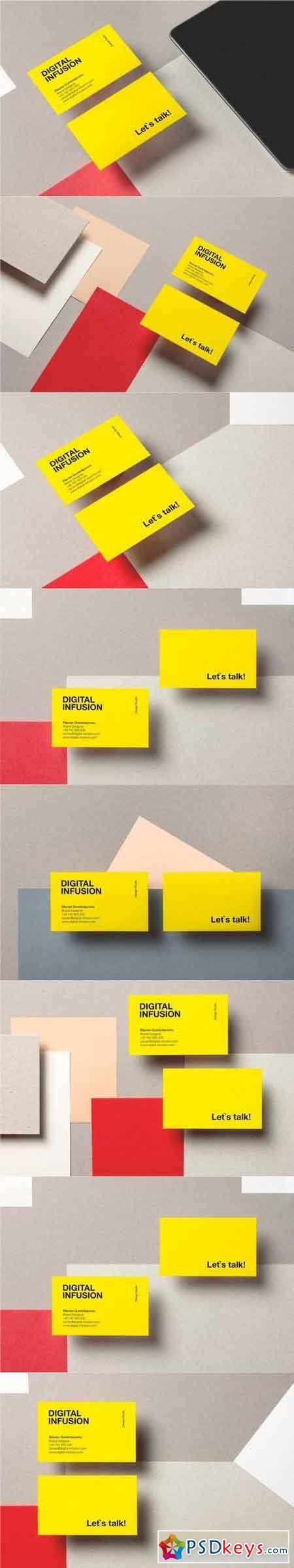 Business Cards Mockup VOL.1
