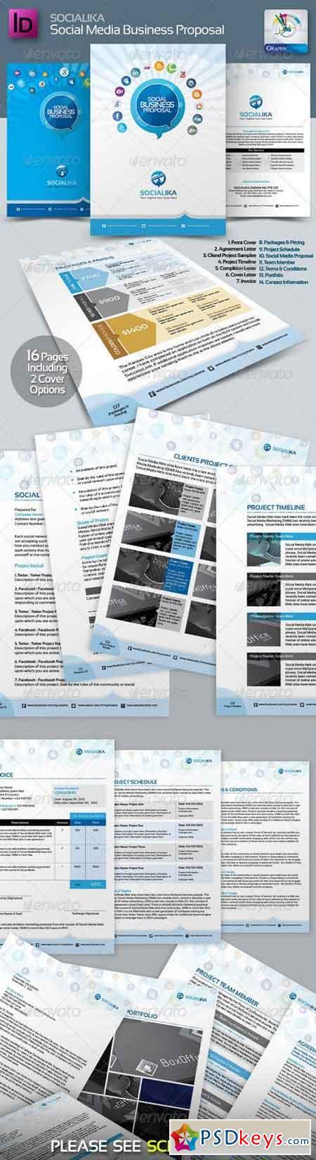 Socialika Social Media Business Proposal 2687391 Free Download