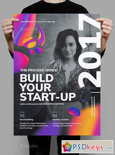 Build Your Start-up Business Poster 20379872