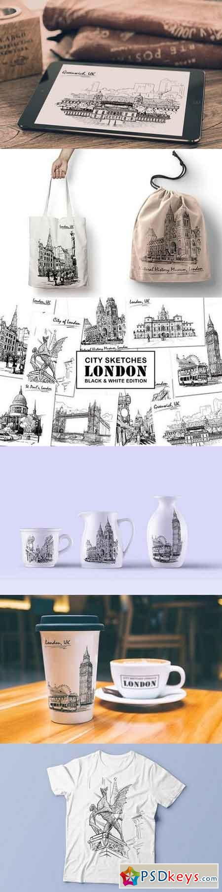 Sketching London - Ink Edition 1317773