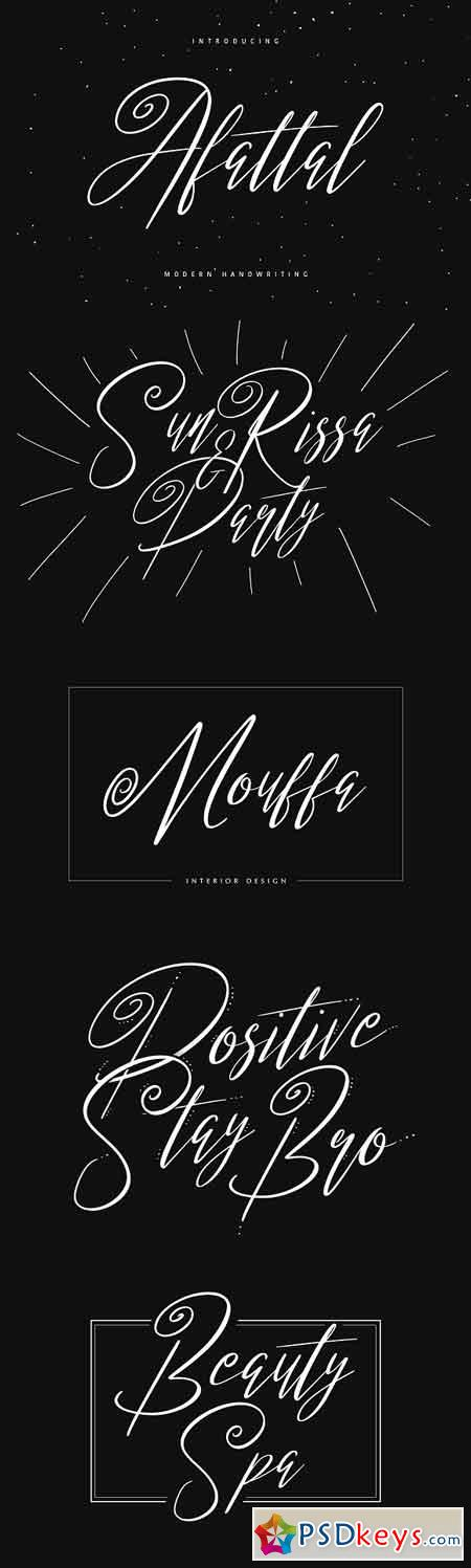 Afattal Typeface 1719318