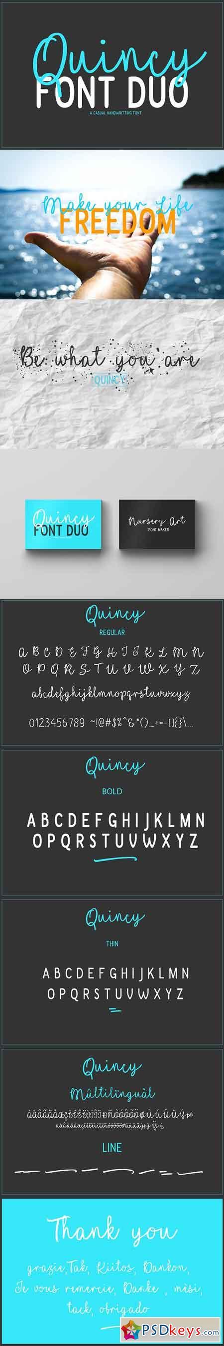 Quincy Font Duo 1720242