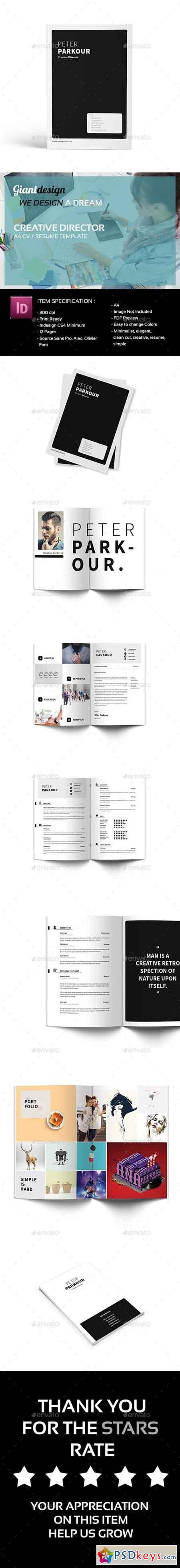 creative director cv resume 20460167  u00bb free download