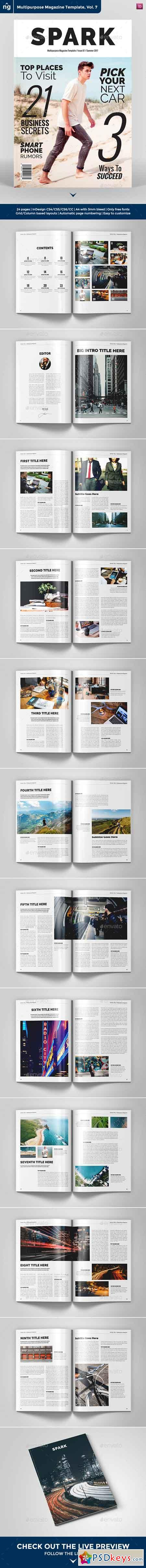 Multipurpose Magazine Template 20397928