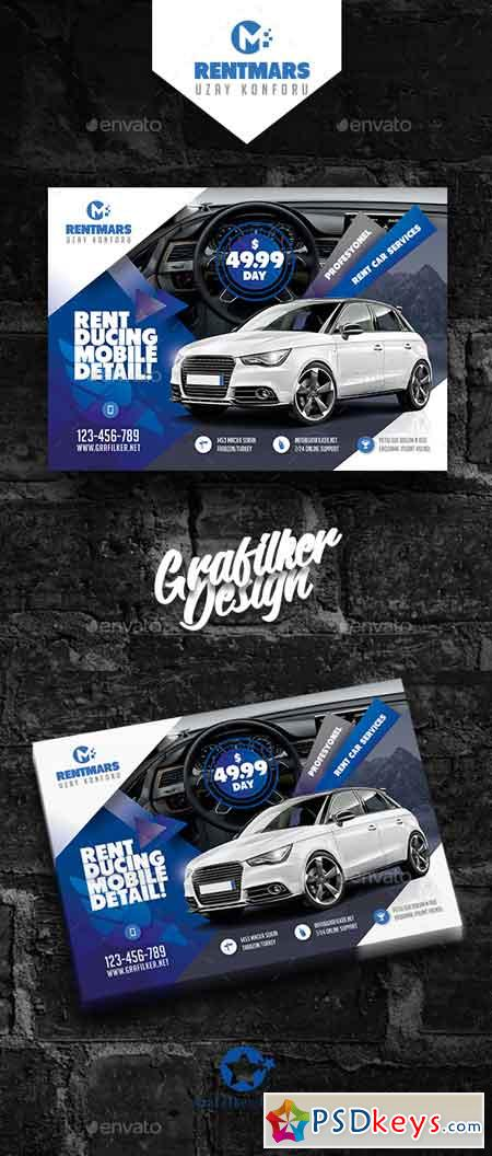 Rent A Car Flyer Templates 20409569