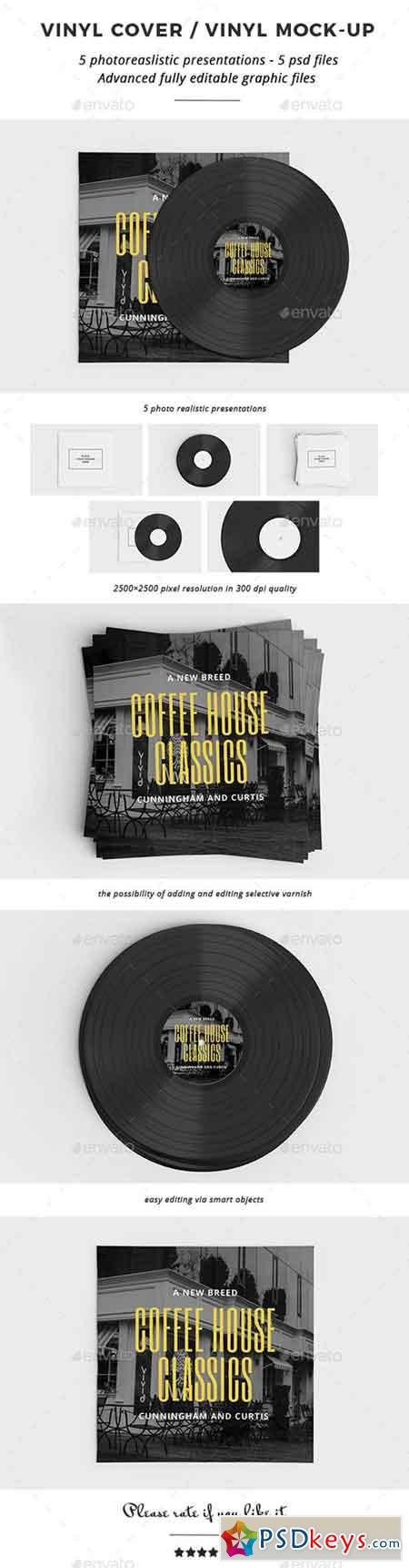 Vinyl Cover Vinyl Mock-up 20449778