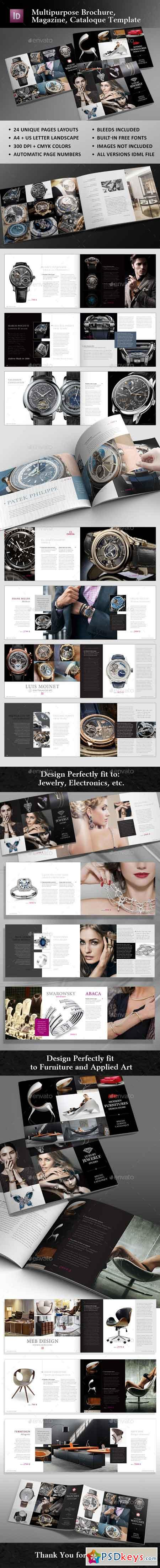 Multipurpose Cataloque Template 20443587