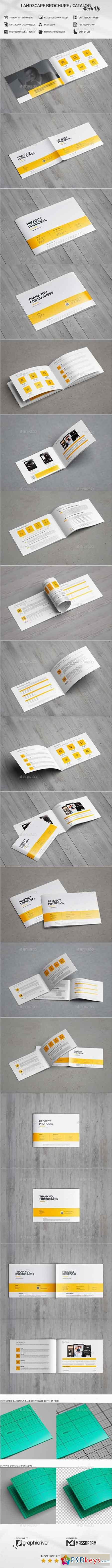 Landscape Brochure Catalog Mock-Up 20455379