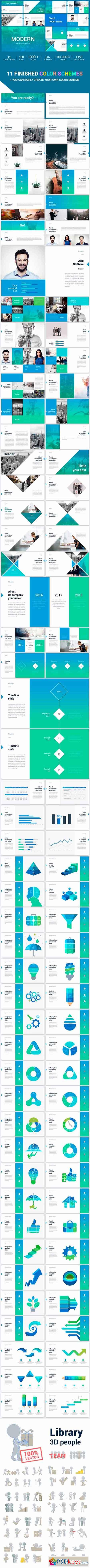 Modern Clean Powerpoint Template 20455664