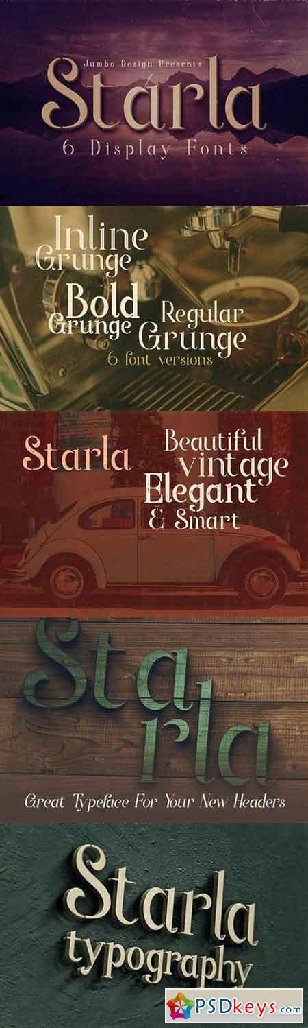 Starla - Display Font 1663968