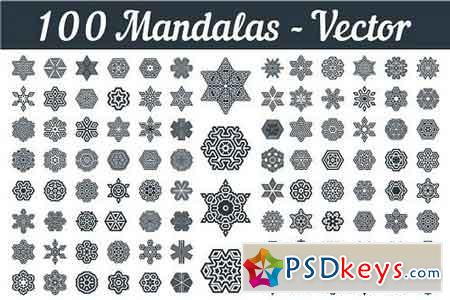 Mandalas Art Vector 1664747