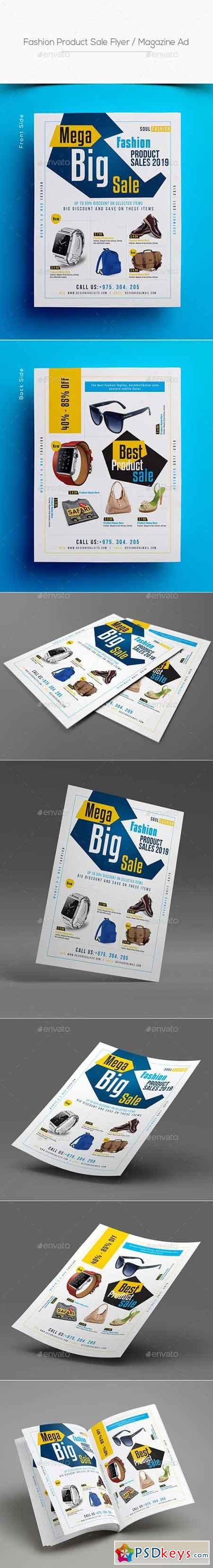 Fashion Product Sale Flyer Magazine Ad 20442847