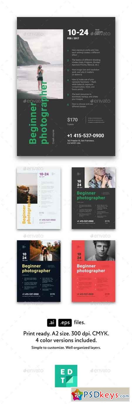 Beginner Photographer Poster 20465693