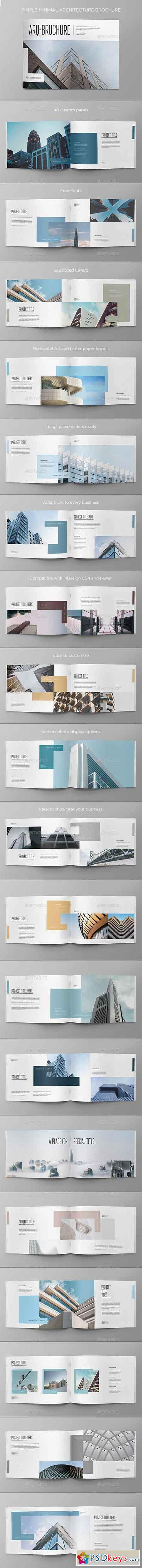 Simple Minimal Architecture Brochure 20454300