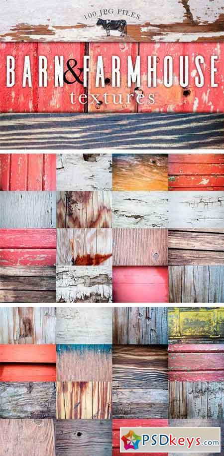 Barn & Farmhouse Wood Textures 1726076