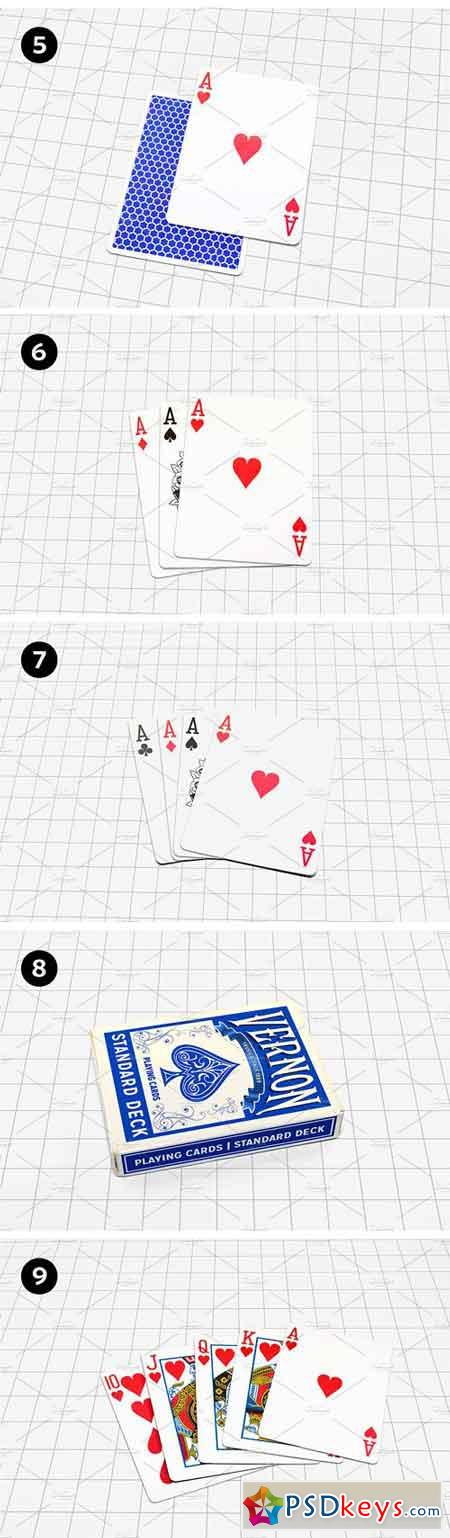 Playing Cards Mock-up V.1 1708617