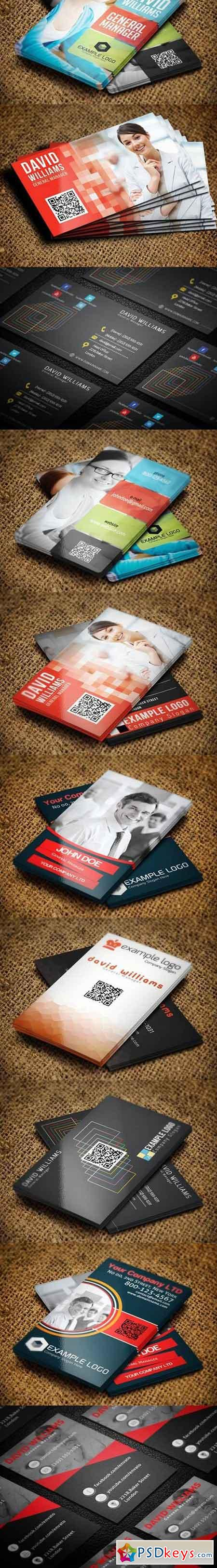 16x Corporate Business Cards 1654129