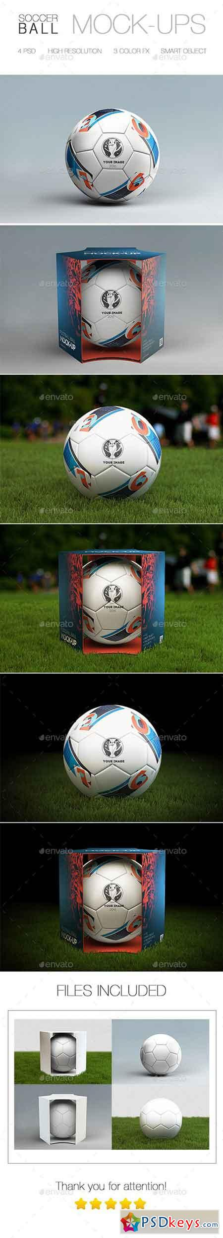 Soccer Ball Mock-Up 14884522