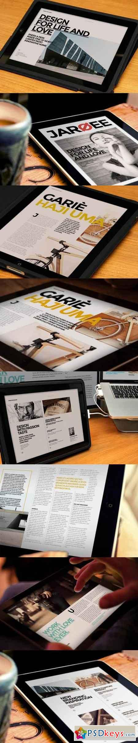 InDesign Magazine Template 5