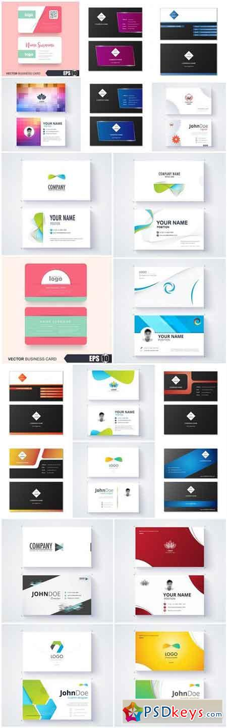 Business Card Design #145 - 20 Vector
