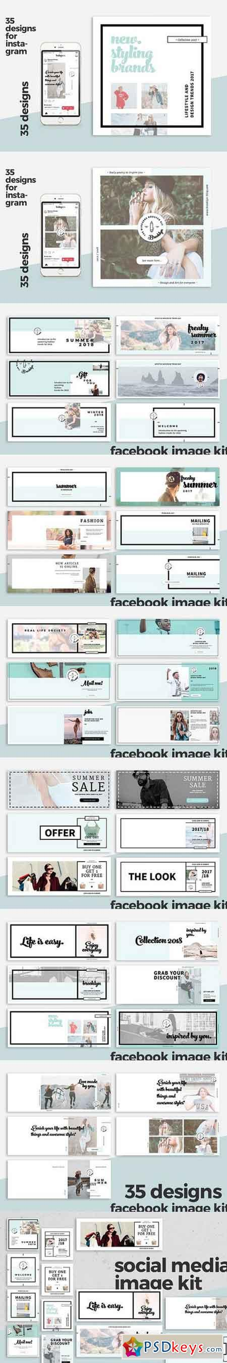 Ultimate Social Media Template Pack 1644061